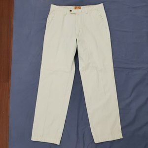 Tommy Bahama Chino Pants Men's 33 X 31 Flat Front